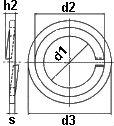 Шайба DIN 9613 - размеры, характеристики.