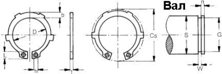 DIN 983 схема, размеры и характеристики